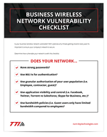 Business Wireless Network Vulnerability