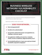 Business Wireless Network Vulnerability